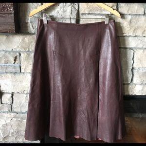 AllSaints leather skirt